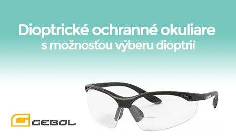 Dioptricke ochranne okuliare