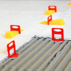 Leveling systém pre obklady a dlažby