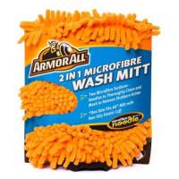 Umývacia rukavica-mikrovlákno 2v1