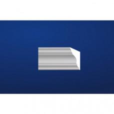 Interiérová garnižová lišta 80-DCke, 2m/ks