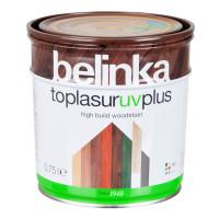 Belinka Toplasur UV Plus - hrubovrstvá lazúra na drevo