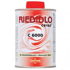 riedidlo C 6000  do nitrocelulózových náterových látok