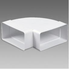 DB/Koleno VE1193 guľaté 90° - 2x100 biele