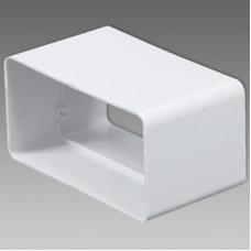 DB/Spojka VE1184 plochého kanálu 110x55 biela