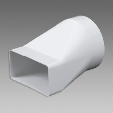 Článok prechodový VE1198 110x55/100 biely