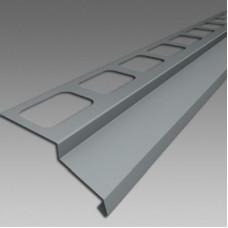 Balkónový profil 2m, šedý