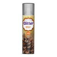 Glitter sprej strieborný 100ml