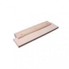 Stierka drevená s gumou 200mm
