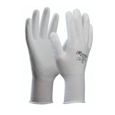 MULTIPACK Rukavice GE Micro-Flex biele 5 párov