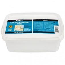 MASTERsil Šľahaný akrylový tmel 0,5L biely