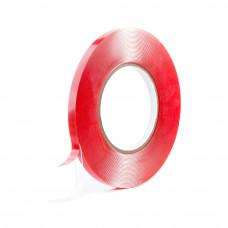 Obojstranná priehľadná gelová páska 6mm x 1mm x 10m