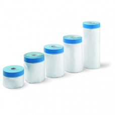 Zakrývacia fólia s páskou UV -TARGA BLUE MASK